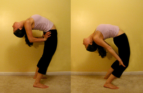 Backward Spine Stretching