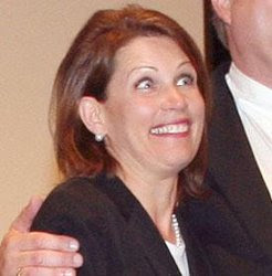 Bachmann's crazy eyes