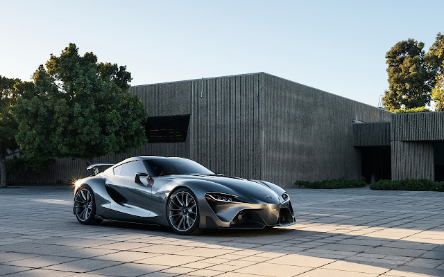 Toyota FT 1 Concept 2