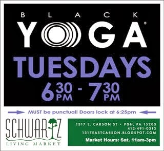 YO)))GA at Schwartz Living Market::TUESDAYS at 6:30pm