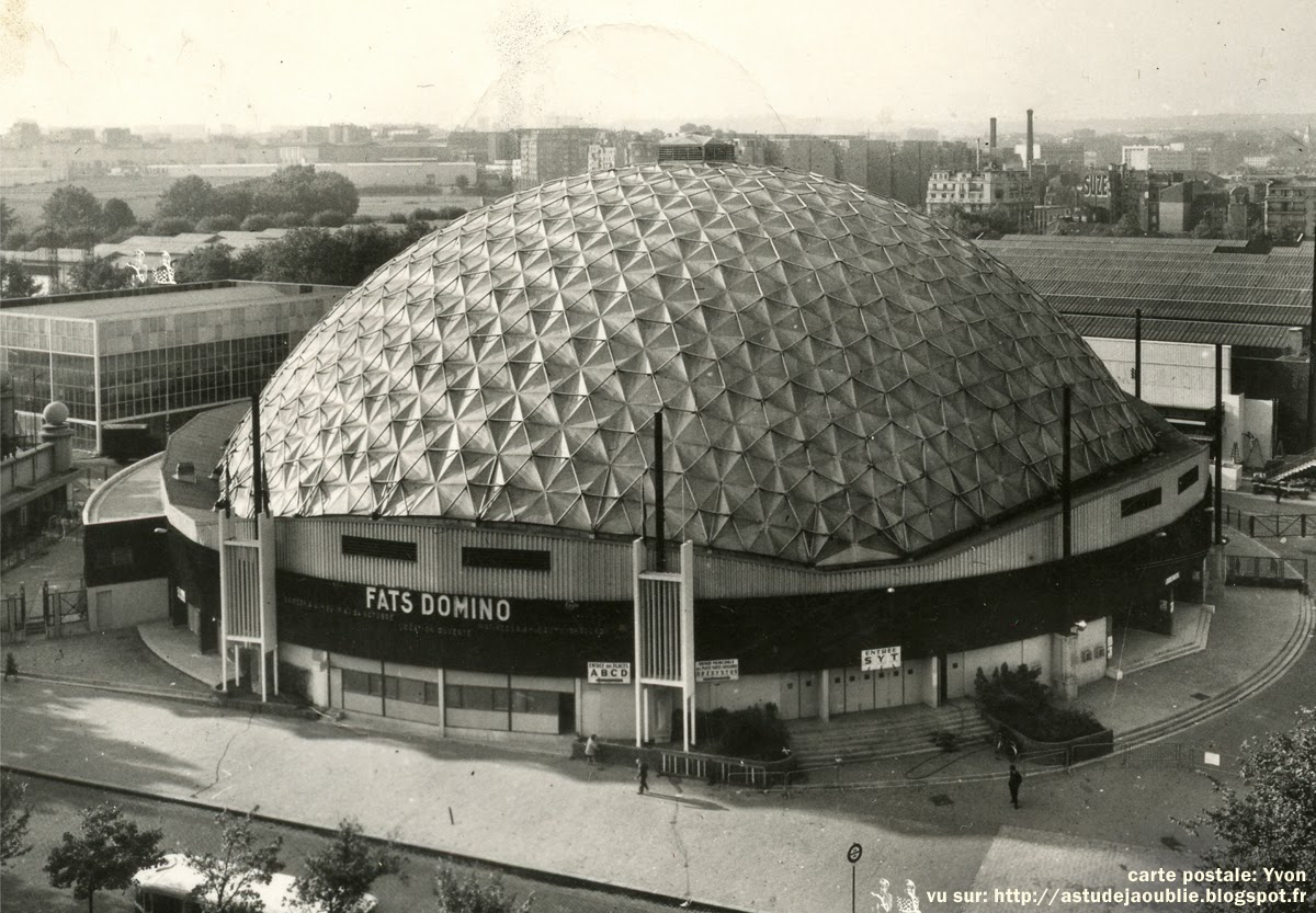 Paris palais des sports dufau buckminster fuller for Paris porte de versailles