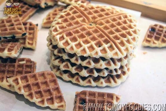 chocolate waffles tous les jours