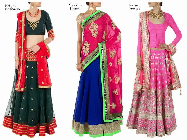 light+lehengas+indian+bridal