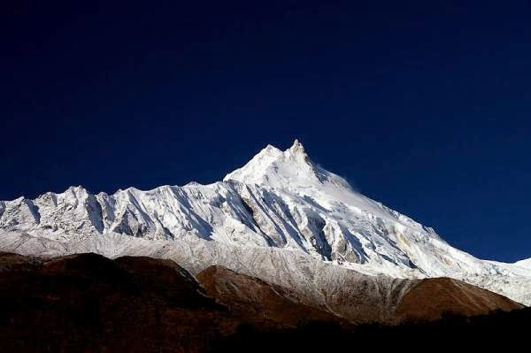 Nepal - Photo of Manaslu, Himalaya