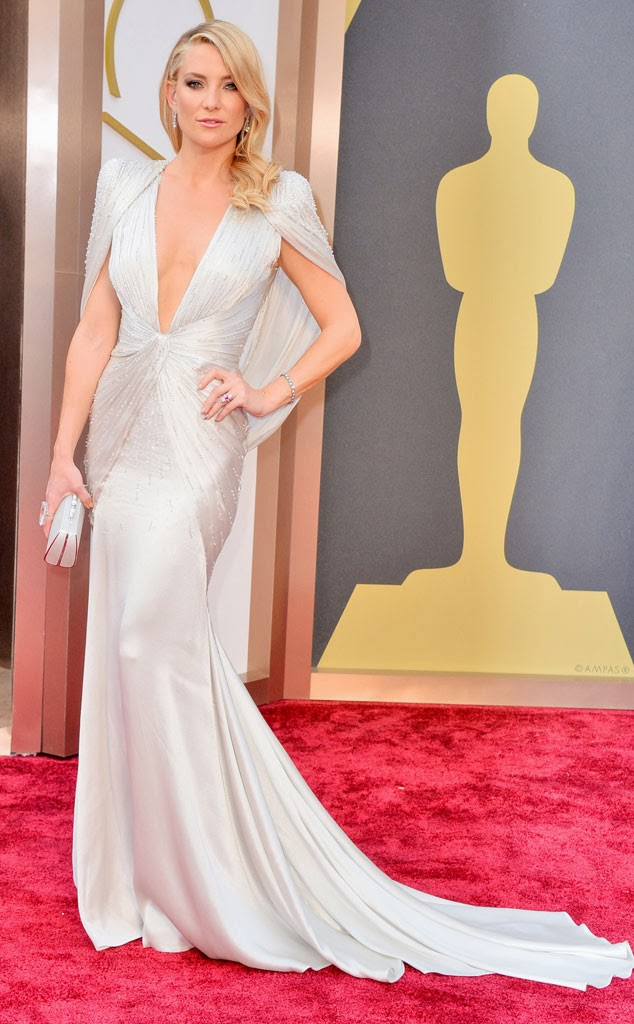 academy awards, 2014, best dressed, worst dressed, red carpet, arrivals, oscars, atelier versace, kate hudson, versace