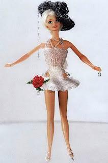 Куклы, одетые бисером