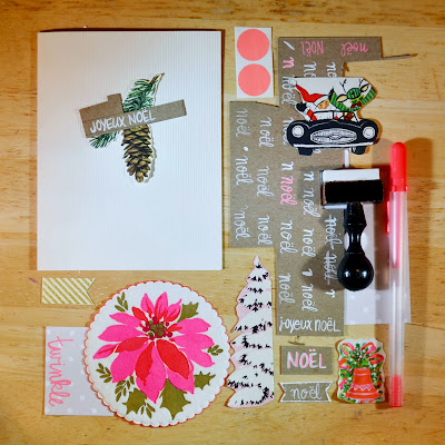 holiday, neon, cards, crafts, vintage, christmas, winter