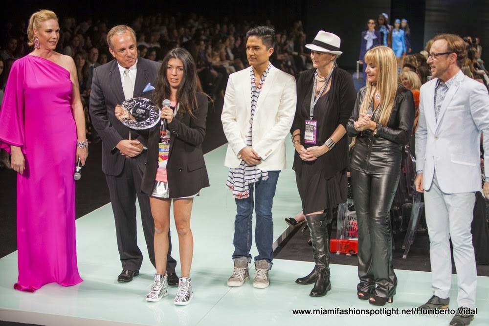 MFW 2014 Crowns Lisu Vega Winner of Design Competition