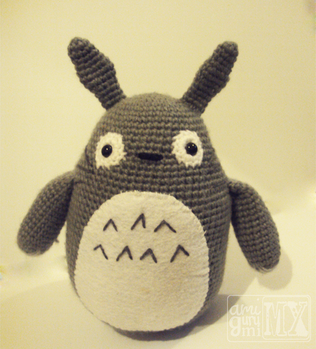 Amigurumis Totoro Patron : Mi mundo amigurumi mx patr�n gratis totoro