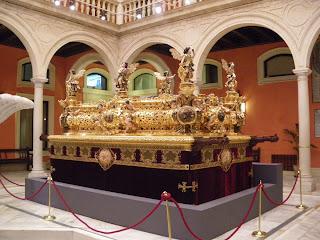 Canastilla del paso de Jesús del Gran Poder de Sevilla