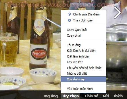 Cách xóa hình ảnh trên Facebook - Delete image on FB