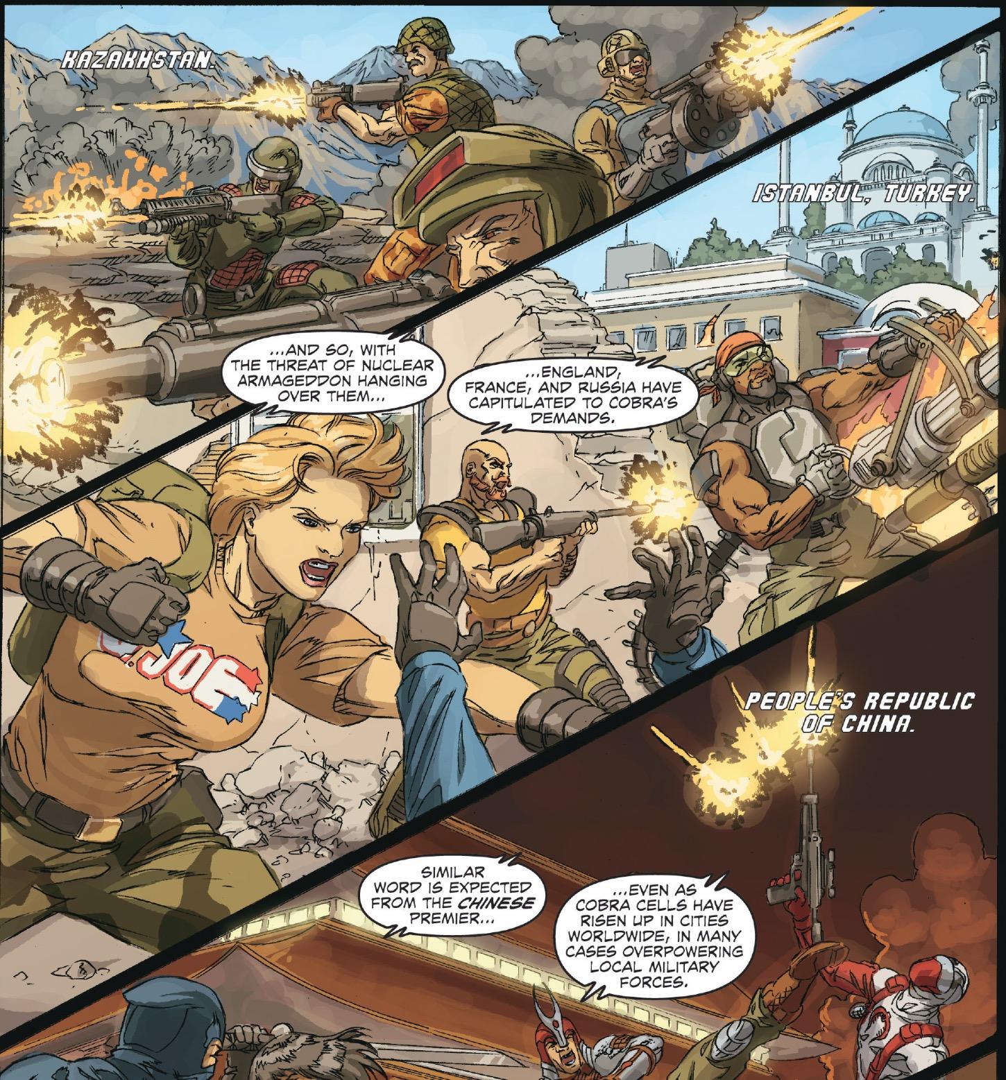 GI Joe 25th Anniversaire Premier Officier supérieur Iron Grenadier