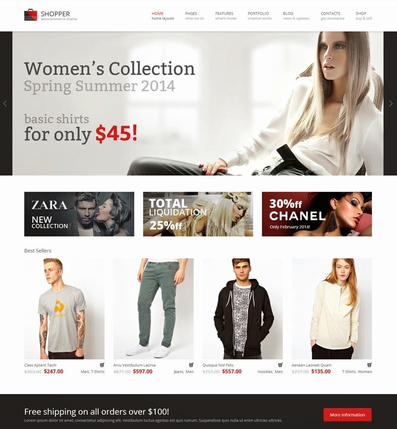 Shopper – Multi-Purpose Woocommerce WordPress Theme
