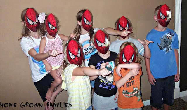 spiderman party,  #SpiderManWMT , movie, dvd, The Amazing Spider Man, Walmart