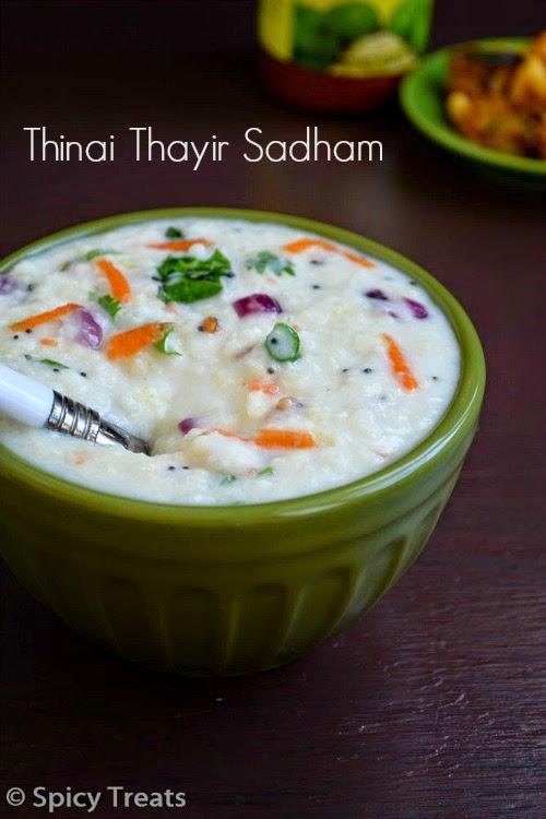 Thinai Thayir Sadham