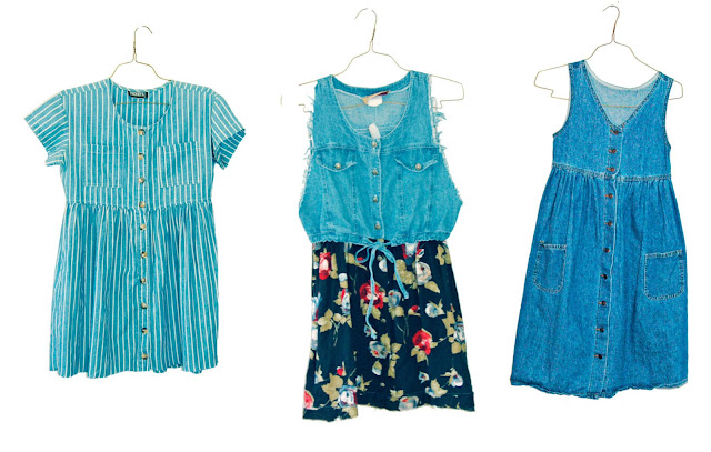 #vintage #90s #bagdresses #babydolldress #dresses #denim #1990s #idlized