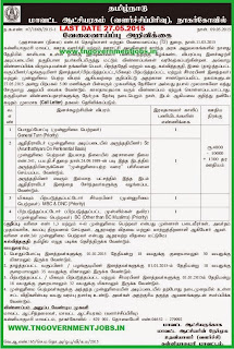 Watchman Post Vacancy Recruitments in Kanyakumari Collectorate (www.tngovernmentjobs.in)