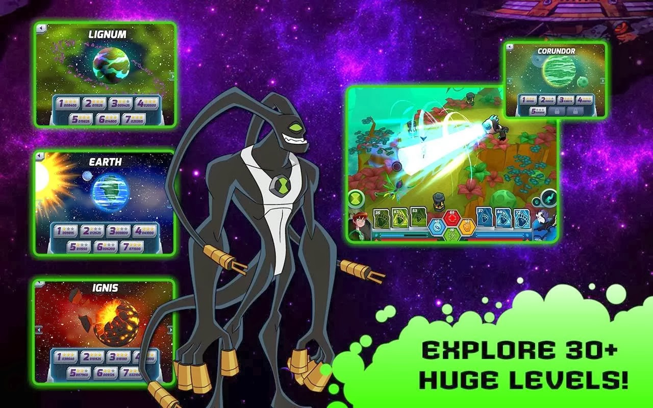 Ben 10 - Wrath of Psychobos 1 0 - World In Android