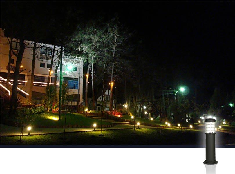 electricidad pi eiro iluminaci n de parques y jardines On iluminacion de parques y jardines