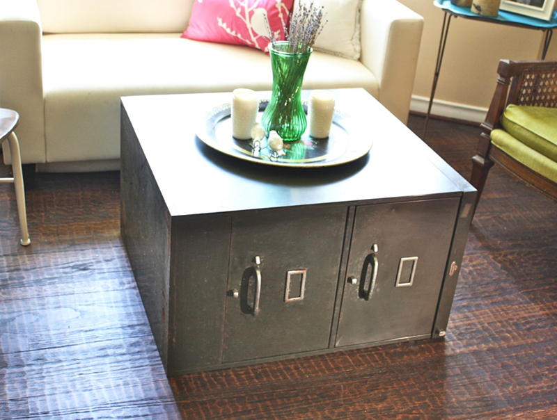 Oh Louise!: File Cabinet Coffee Table!