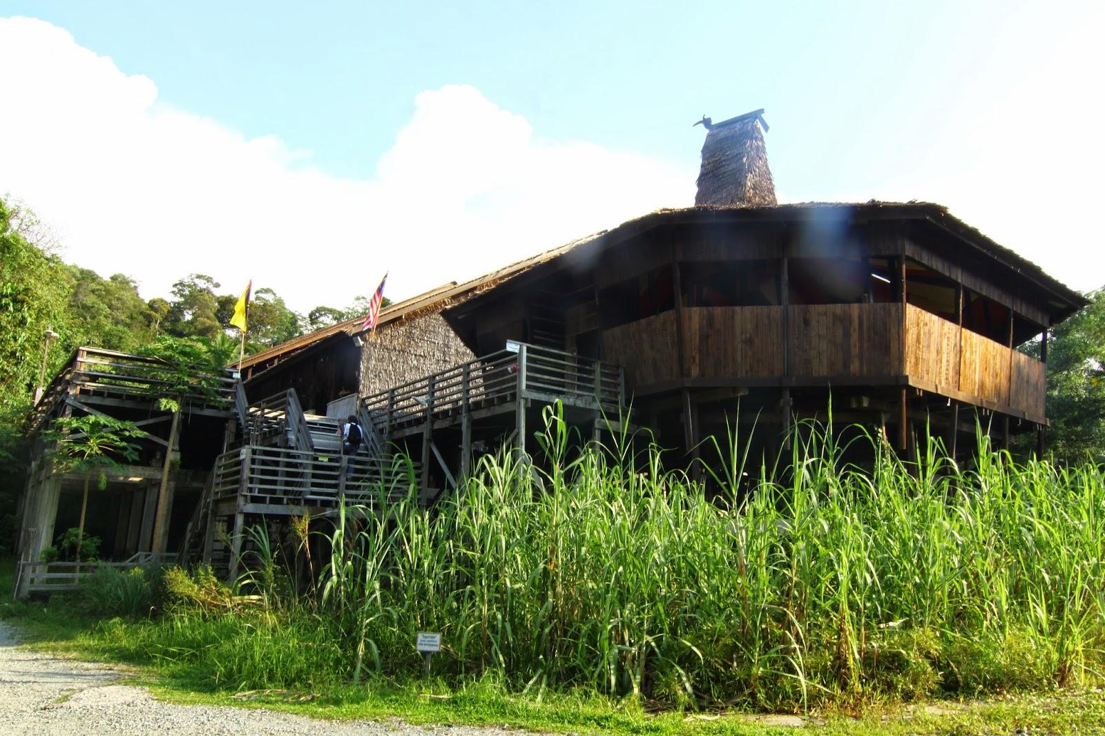Rumah Bidayuh Kampung Budaya Sarawak