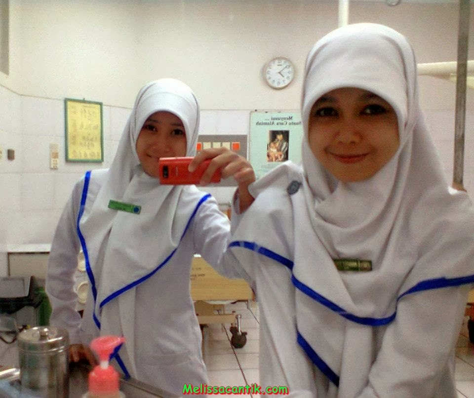 Nurse Wearing Hijab