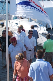 Boat show people