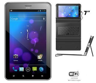 tablet dengan nama MITO T970 TabletBook , bedanya kali ini berlayar 7