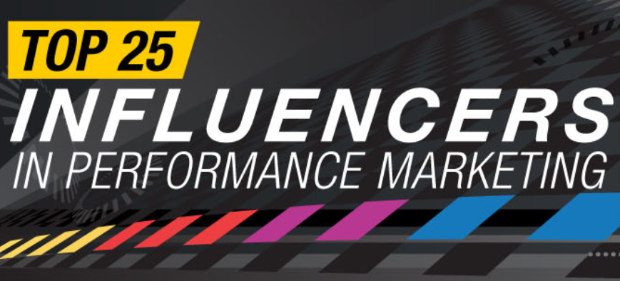 Top 25 Influencer in performance marketing 2014 infographic