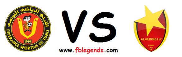 مشاهدة مباراة الترجي التونسي والمريخ بث مباشر اليوم 18-4-2015 اون لاين دوري أبطال أفريقيا يوتيوب لايف el merreikh vs esperance sportive de tunis