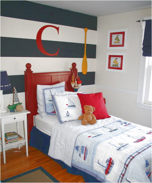 Key interiors by shinay nautical theme for boys bedrooms for Bedroom ideas nautical