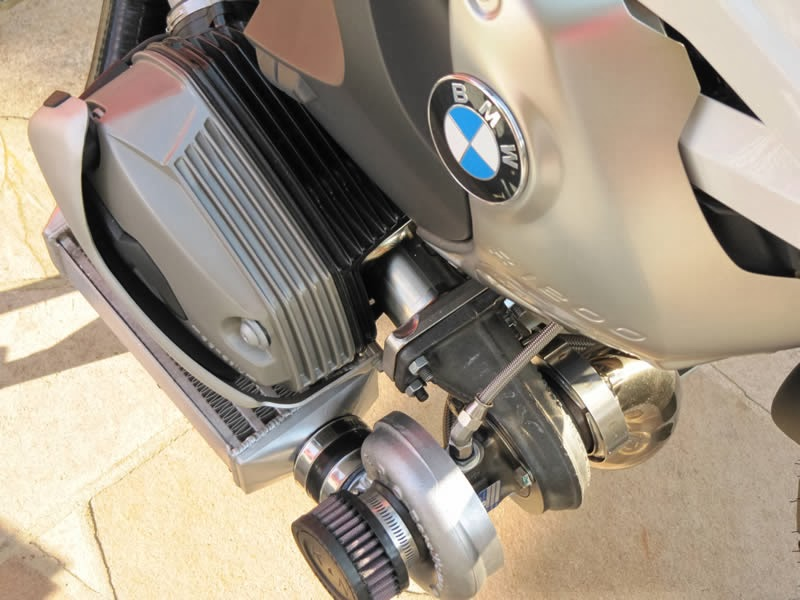 BMW 1200 GS Twin Turbo | Twin Turbo | Bi Turbo | Custom BMW 1200 GS Twin Turbo | BMW 1200 GS Dacar Motorsport Twin-Turbo Kit | Twin Turbocharger | Turbocharger | Bmw 1200GS Turbo | BMW Twin Turbo | Motorcycle Turbocharger