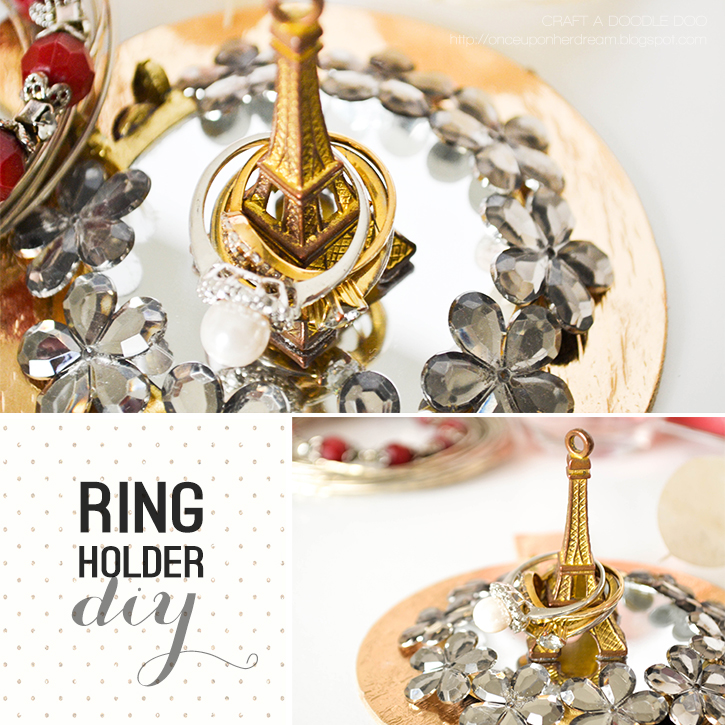 DIY Ring Holder #diy #jewelry #organization #idea
