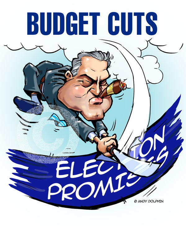Joe Hockey Abbott Australian Budget Cuts & Broken Promises