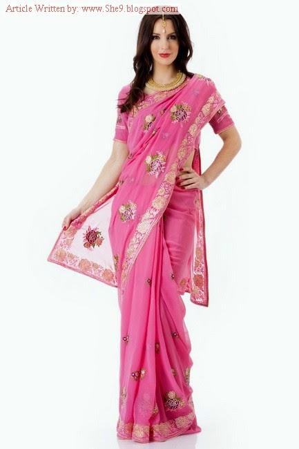 Royal Evening Party Saree Fashion