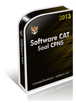 Software Cat Dan Soal Soal Tes Cpns 2013 Contoh Surat Lamaran Kerja