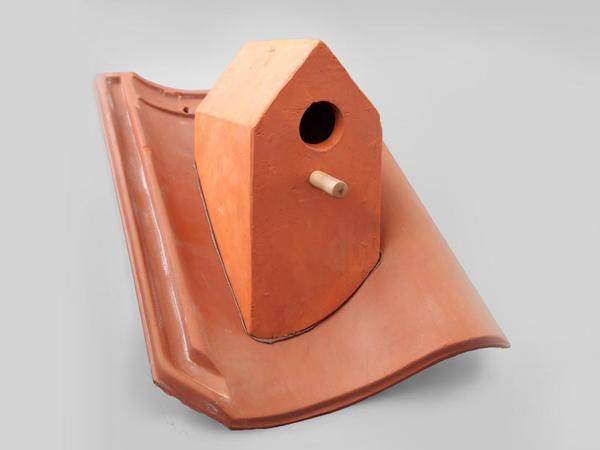 Къщичка за птици - керемида