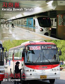 transportasi di korea selatan