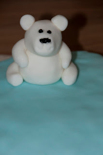 Fondant cake decorations