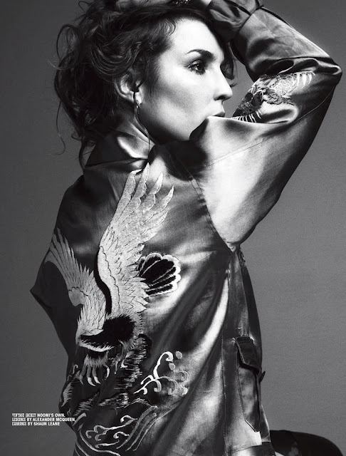 Noomi Rapace by Cédric Buchet for 10 Magazine-2