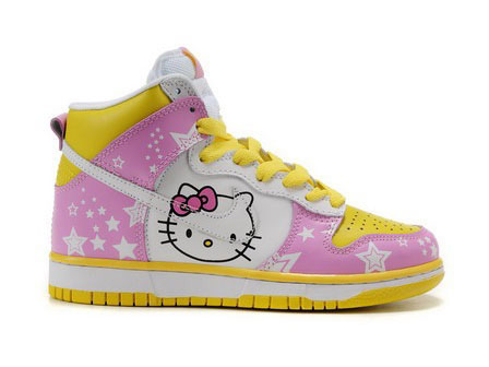 fashion style nike shoes for girls high tops