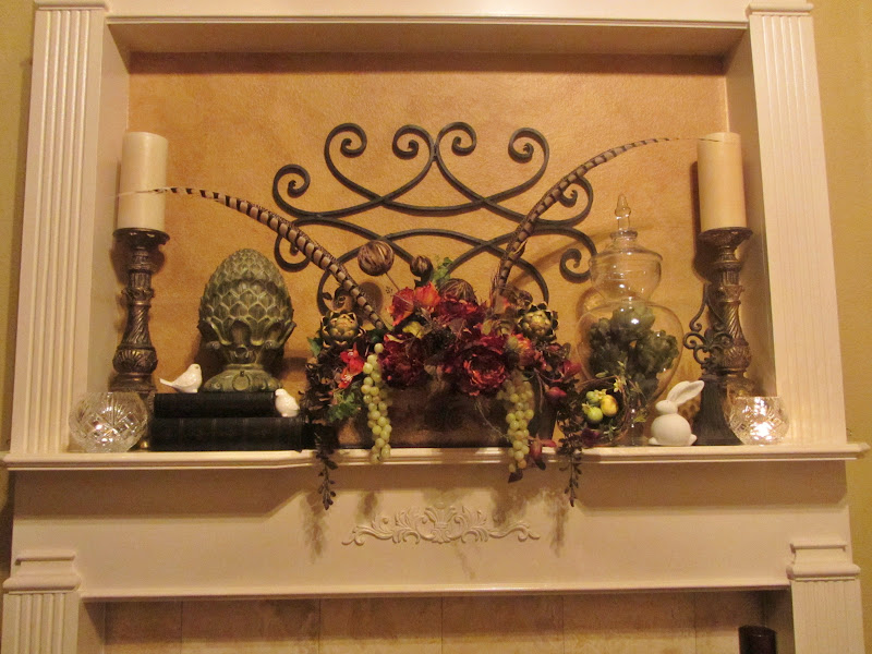 Embellishments By Slr Tuscan Spring Mantel