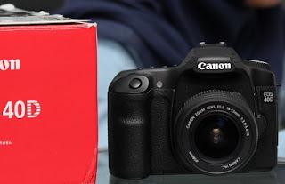 harga Canon EOS 40D SC : 8Rb an - DSLR Bekas