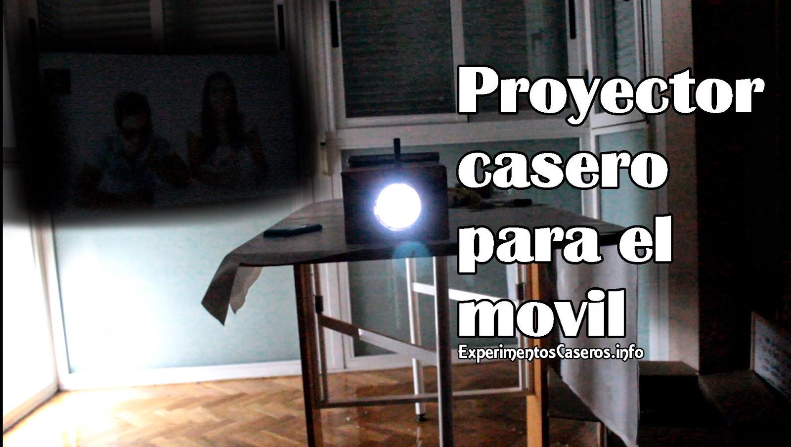 C mo hacer un proyector para el celular experimentos caseros for Proyectar tu casa