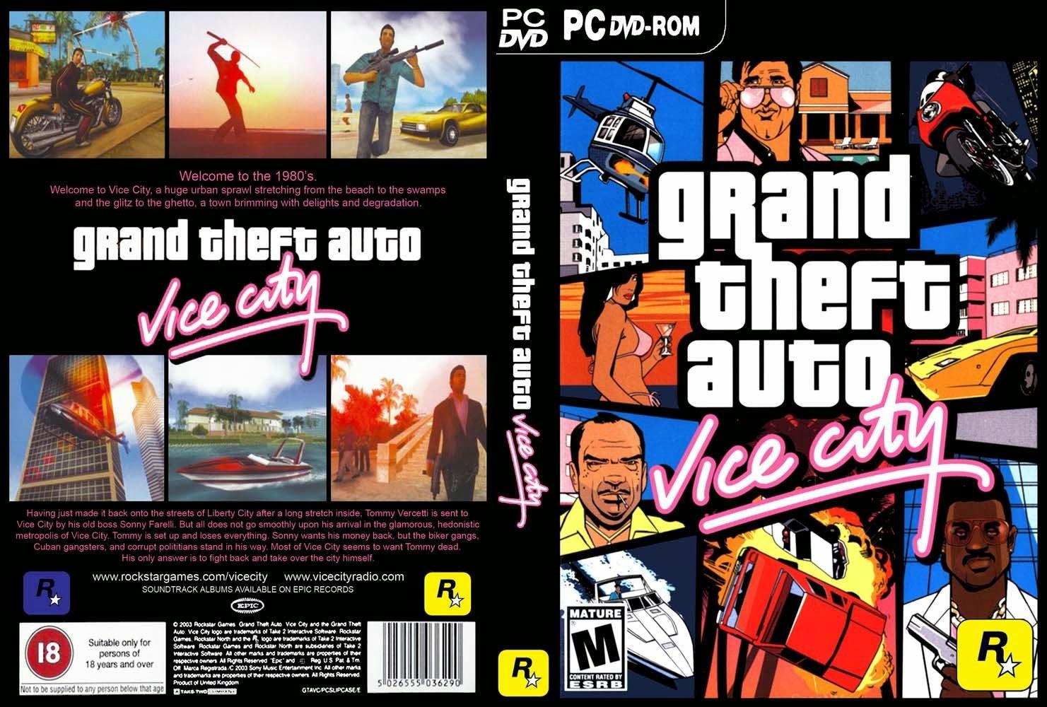 GTA VC - Baixar GTA Vice City Versão Completa