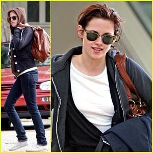 Kristen Stewart  Makeup on Vince Young   Justin  Kristen Stewart Without Makeup
