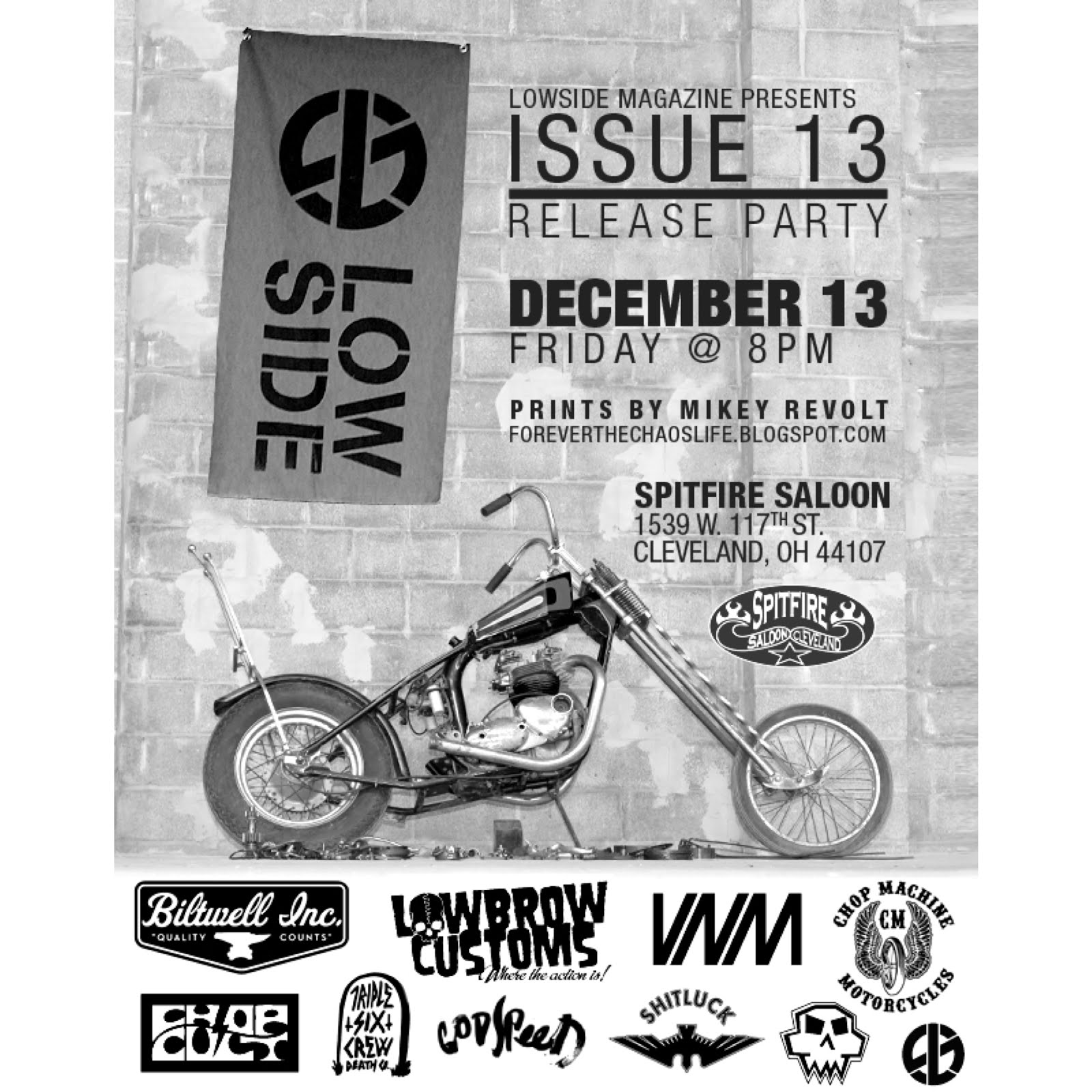 Lowside Magazine Issue 13 Release Party