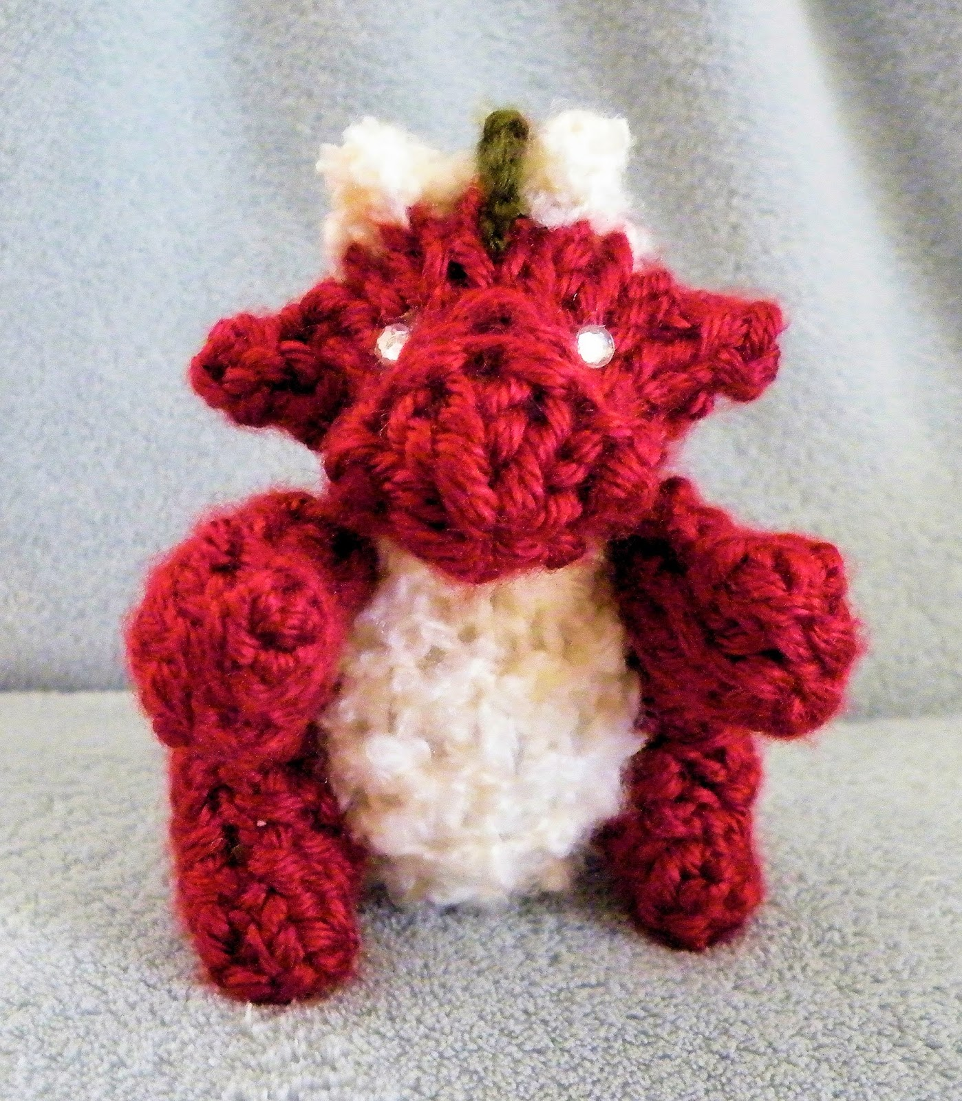 Boye Loom Knitting Stitches : The Loom Muse : How to Loom Knit a Mini Dragon