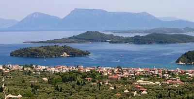 Vistas de Lefkada - Islas Griegas