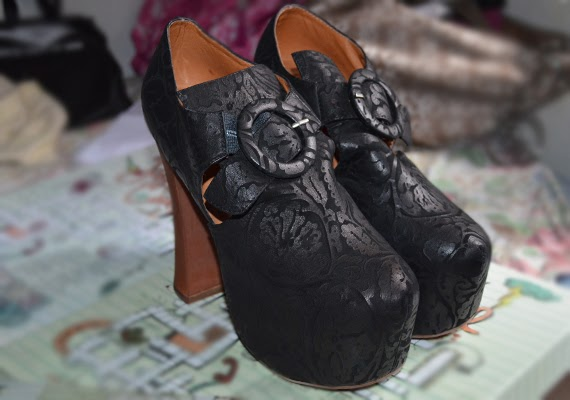 Jeffrey Campbell's O Wilde Leather